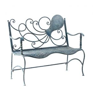 Coastal Iron Octopus Bench