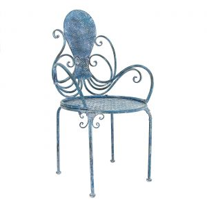 Coastal Iron Octopus Armchair