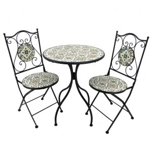 """Boston"" Mosaic Bistro Set"