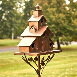 Birdhouses, Birdbaths, and Birdfeeders