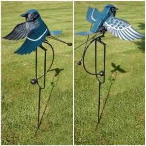 Iron Blue Jay Swing Stake