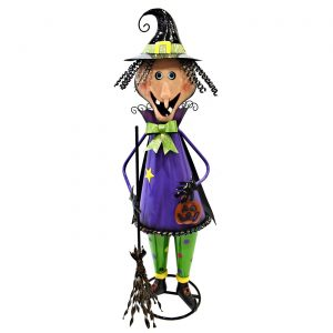 "Iron Halloween Witch Figurine ""Girlfriend"""