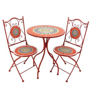 """Paris"" Mosaic Bistro Set"