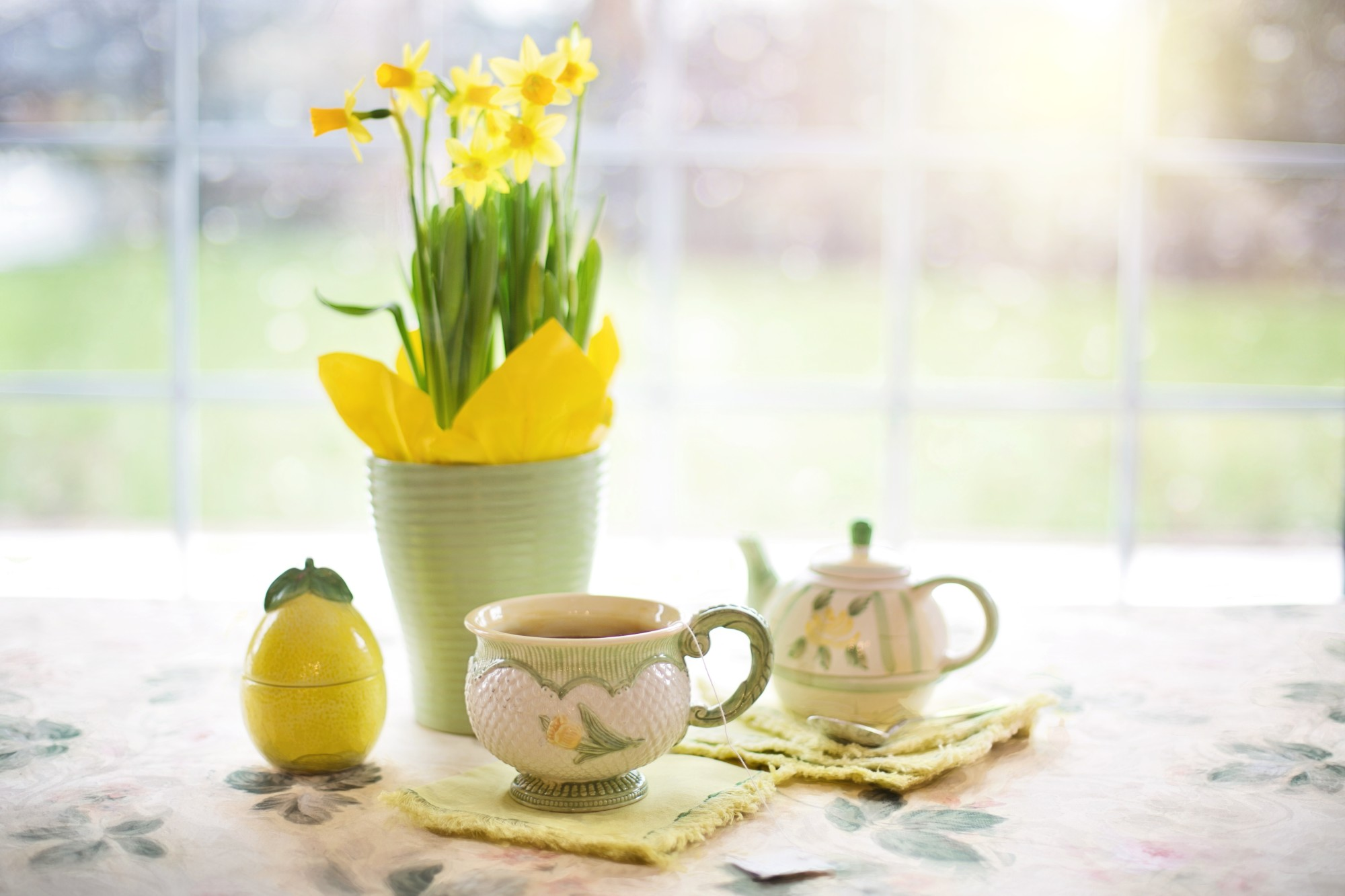 easter holiday table