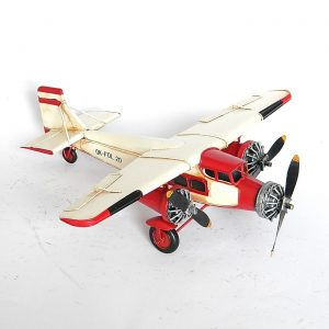 Metal Model Airplane Decor