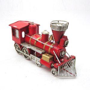 Small Iron Train Decoration