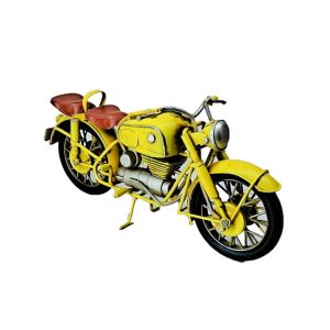 Vintage Style Iron Motorcycle Decoration