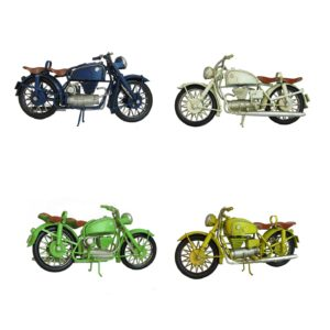 Vintage Style Tabletop Motorcycles