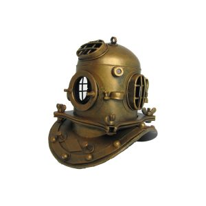 Metal Diver's Helmet Decoration
