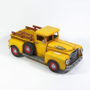 Yellow Model Pickup Truck