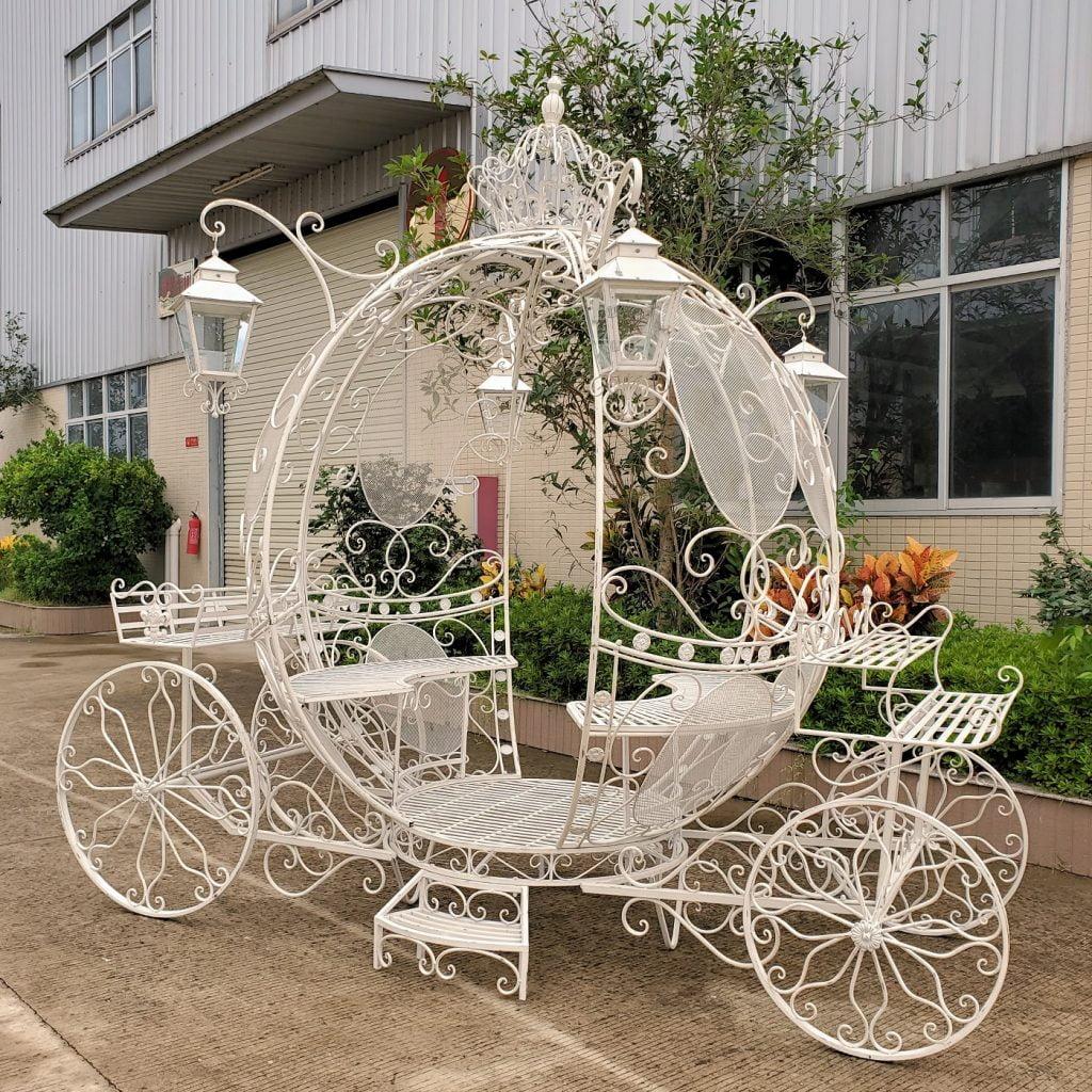 Large Round Cinderella Carriage