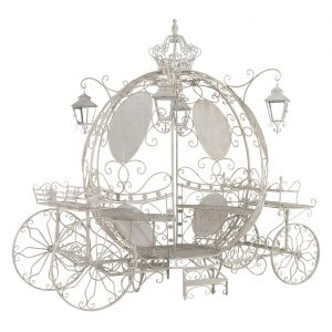 Large Round Cinderella Carriage