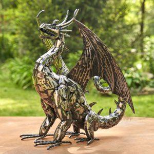 "Metal Dragon Statue ""Vakhtang"""