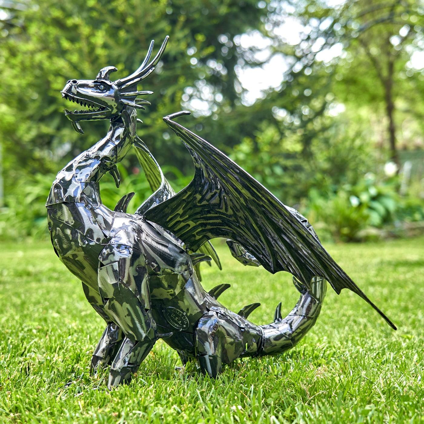 "Metal Dragon Statue ""Bagrat"""