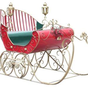 Large Christmas Sleigh Decoration