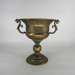 Grecian Style Urn with Ornate Handles