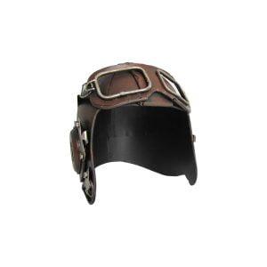 Vintage Style Pilot's Helmet Decoration