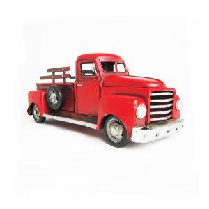 Red Model Pickup Truck