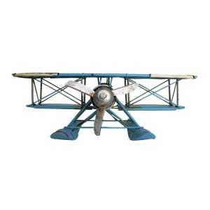 Decorative Baby Blue Model Floatplane