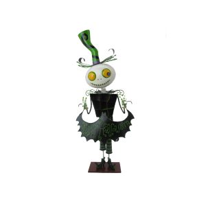 "Short Iron Halloween Figurine with Open Body""Antonio"""