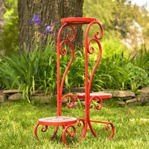 """""""Tokyo"""" Mosaic Plant Stand"""