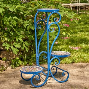 """London"" Mosaic Plant Stand"